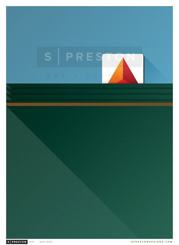 Minimalist Fenway Park - Boston Red Sox by pootpoot1999