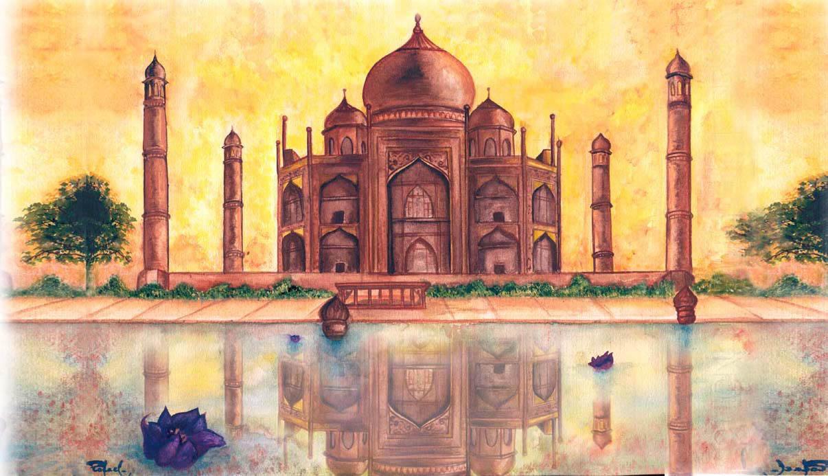 Taj Mahal by Rallase on DeviantArt