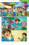 Child's comic April