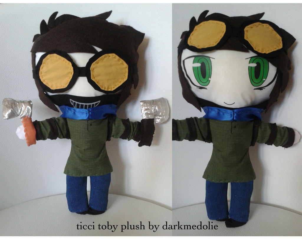 Creepypasta ! Ticci Toby Plush ! By Darkmedolie On DeviantArt