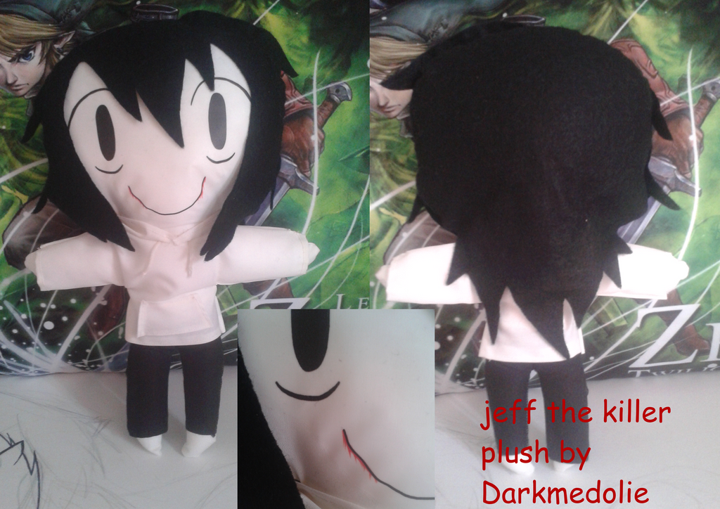 [CREEPYPASTA] Jeff Plush By Darkmedolie On DeviantArt