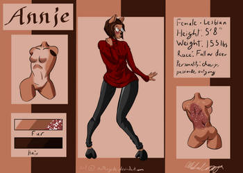 Annie Reference by notKingCole