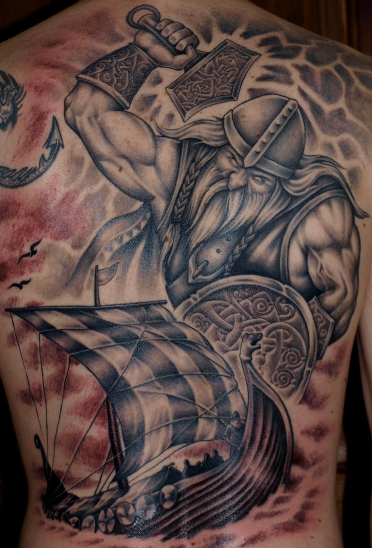 Thor by DarkSunTattoo