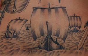 Vikingship by DarkSunTattoo