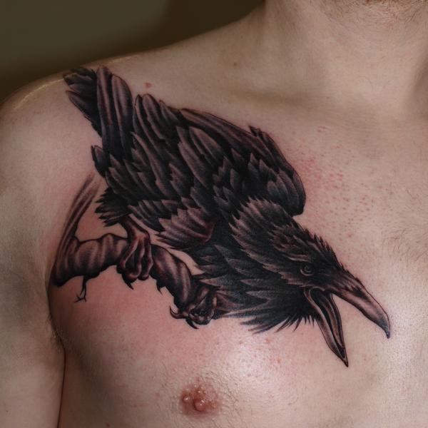 Raven by DarkSunTattoo