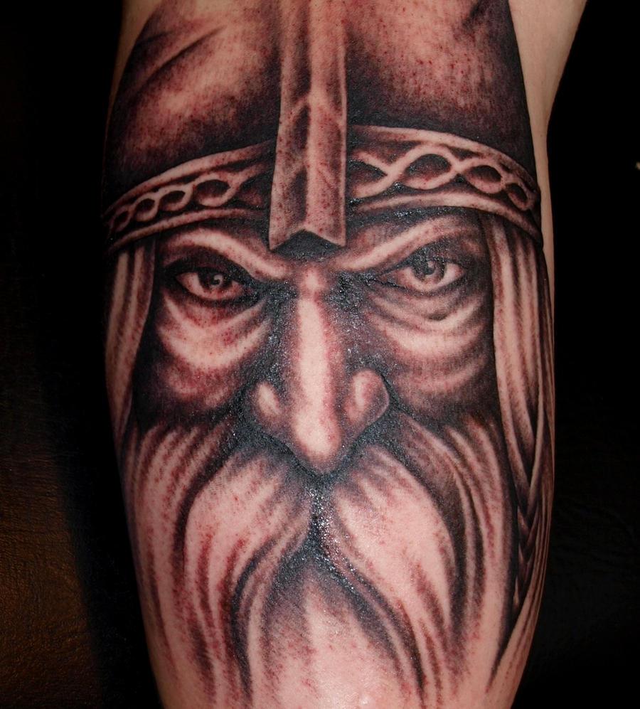 Old Viking by DarkSunTattoo