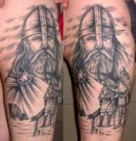 Vikings 2 by DarkSunTattoo