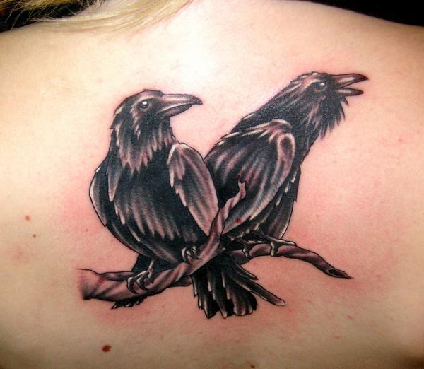 ravens odin huginn and muninn tattoo inspiration pinterest ravens. Black Bedroom Furniture Sets. Home Design Ideas