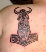 Viking Art Thorshammer 5 by DarkSunTattoo