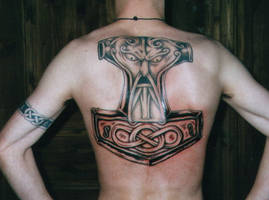 Viking Art Thorshammer 8 by DarkSunTattoo
