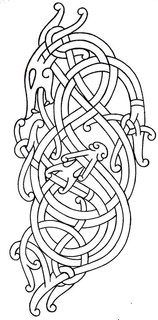 viking tattoo flash