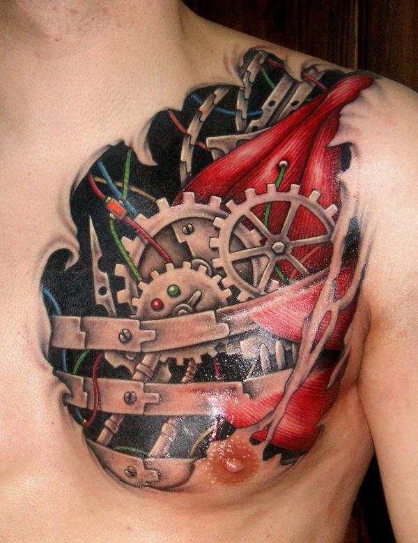 Biomech 6 by DarkSunTattoo