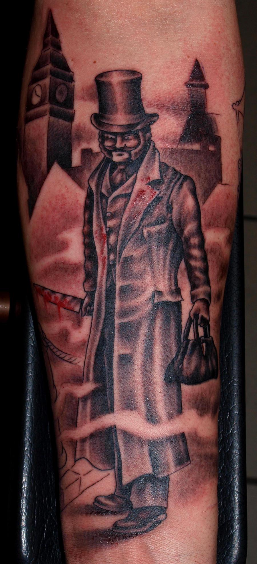Jack the ripper tattoo gallery