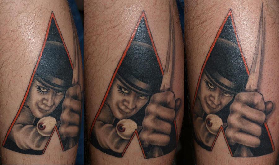 Clockwork orange by darksuntattoo on deviantart for Clockwork orange tattoo