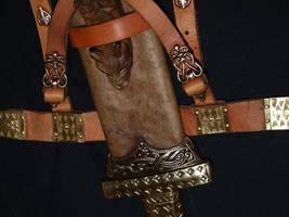 Viking sword scabbard 6 by DarkSunTattoo