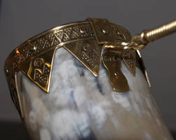 Viking drinking horn 4 by DarkSunTattoo
