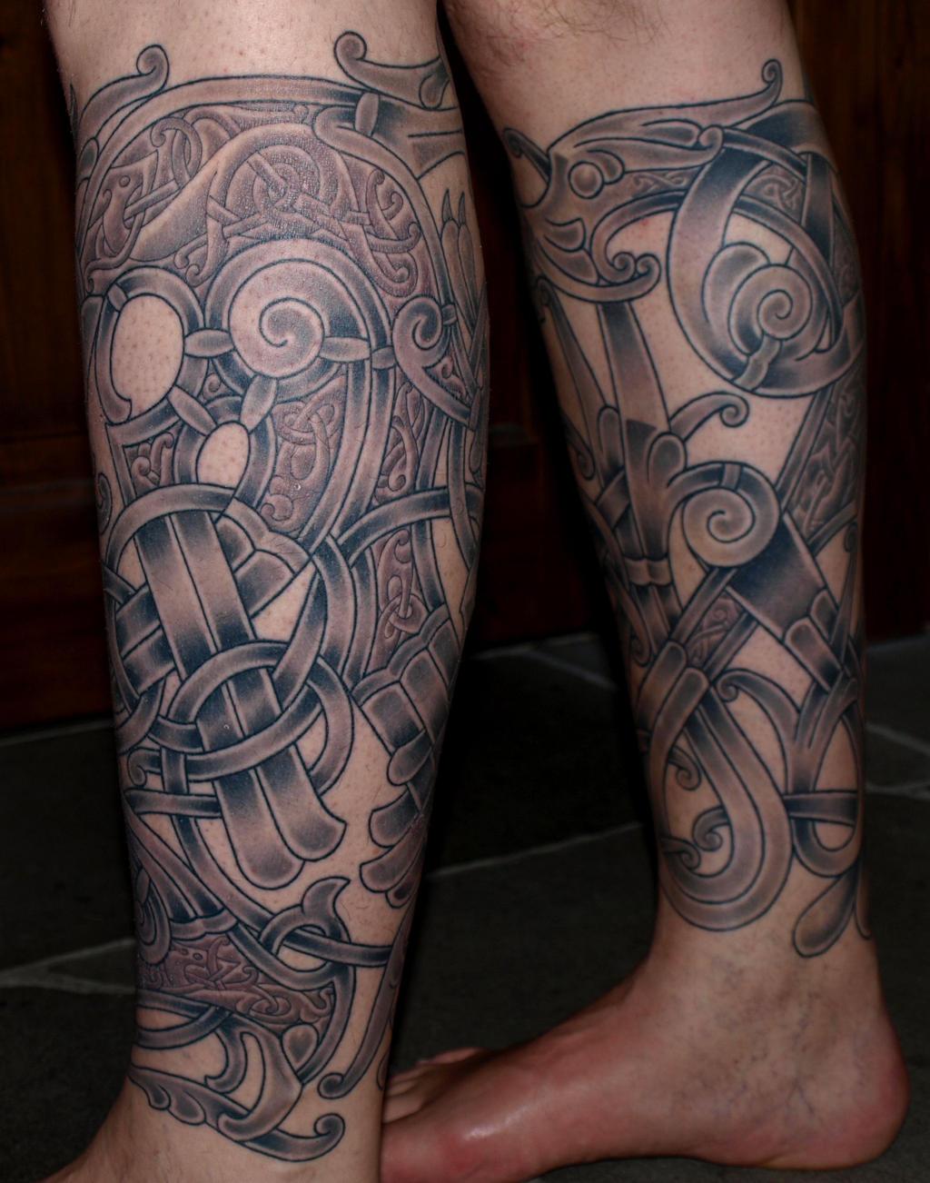 Viking Tattoo Art