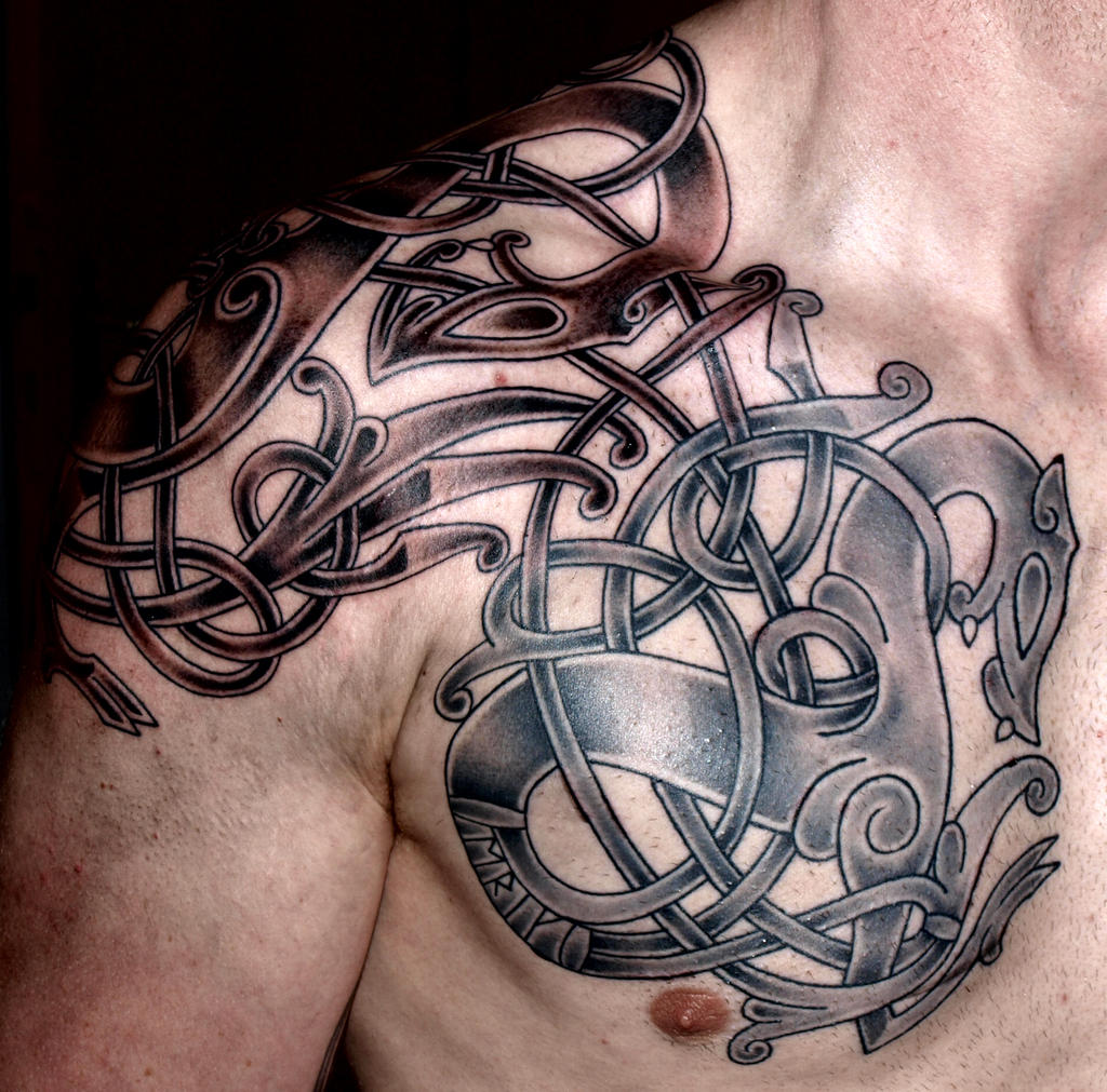 Viking art Tattoo by DarkSunTattoo on DeviantArt