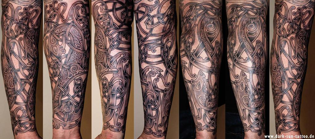 Viking art Tattoo by DarkSunTattoo