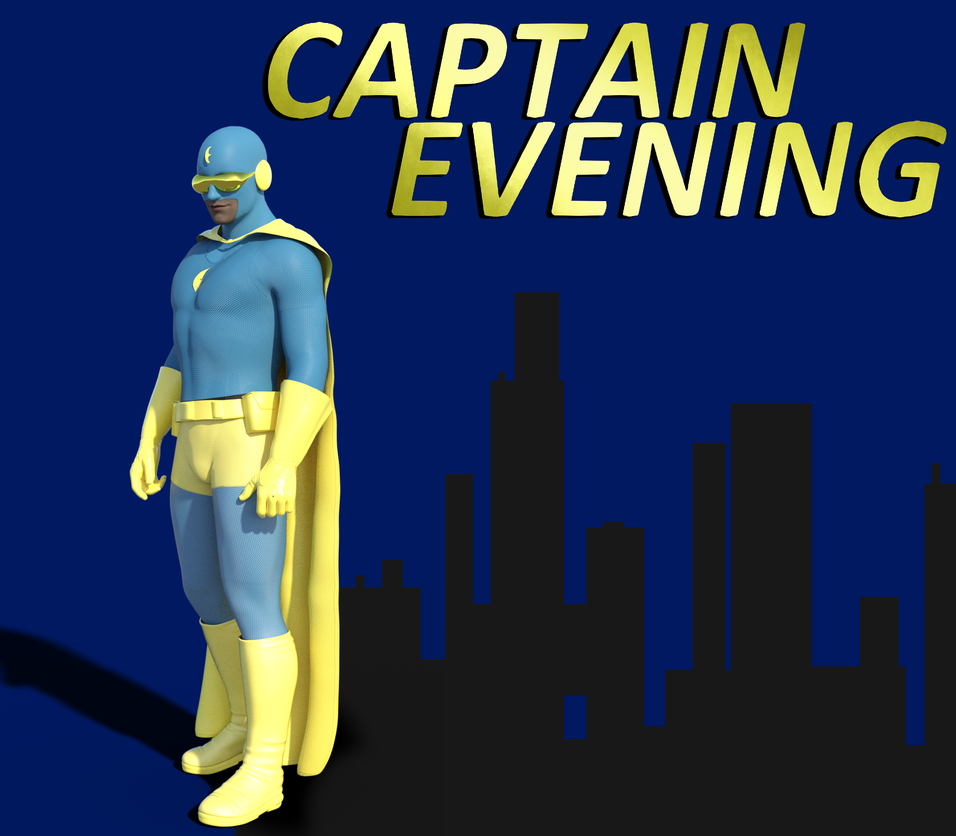 Captain Evening - new version for 2018 by burstlion