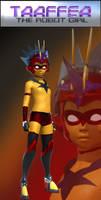 Taaffea the Robot Girl - MK II by burstlion