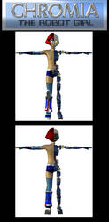 Mechanical Cutaway - Chromia the Robot Girl MK III by burstlion