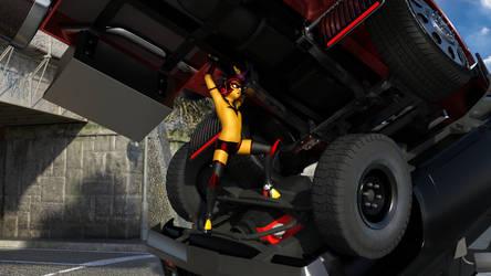 Taaffea's big rig rescue by burstlion