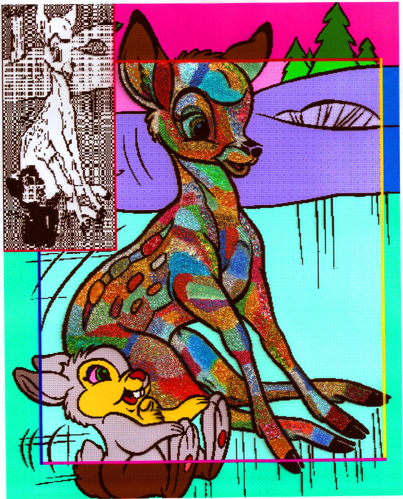 Image Result For Thumper Bambi Coloring