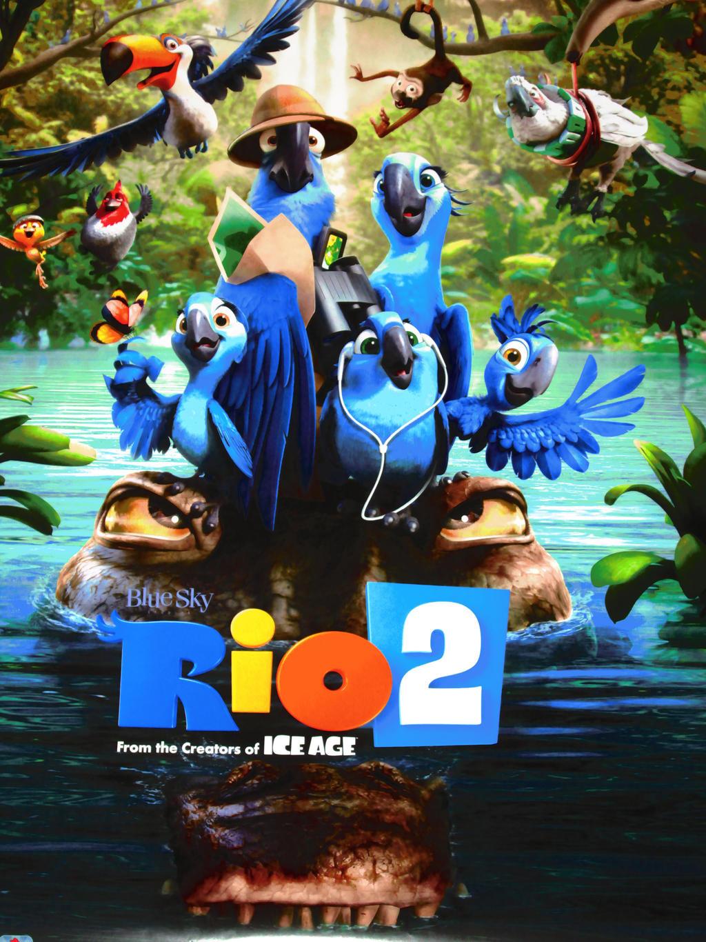 My new RIO 2 poster by HomeOfBluAndshadows on DeviantArt