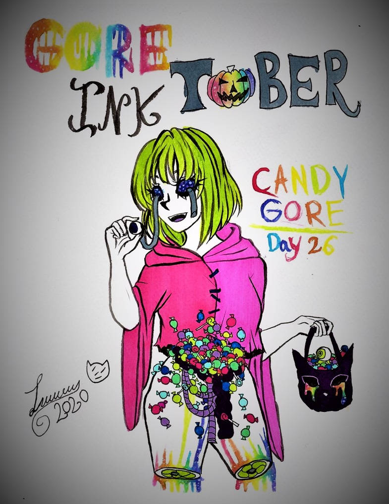 Gore Ink Tobeer Day 26 Candy Gore By Okenolau On Deviantart Or other lacerations that might have happened to the candy. deviantart