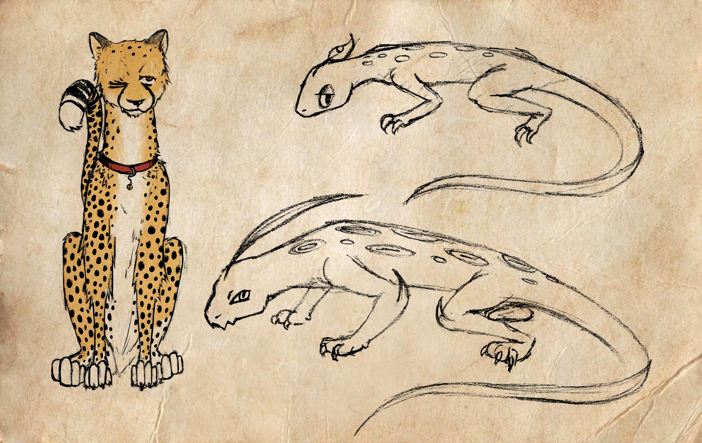 Tres escobas y un tejón [Vainilla] Animales_by_akirusaru95-daq1yq4