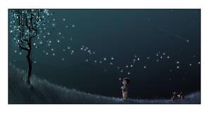 Ten million fireflies by ArtofRoshan