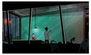 Snooker pub by ArtofRoshan