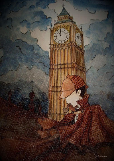 Sherlock Holmes by skillywidden