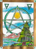 Earth - Pagan Symbolism by Vampiric-Conure