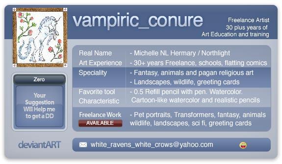 Vampiric-Conure's Profile Picture