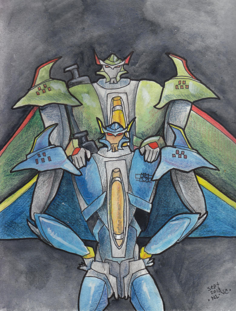TFP Dreadwing and Skyquake by Vampiric-Conure on DeviantArt