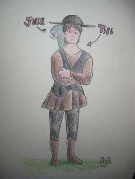 Sketchbook Drabbles - Tiel and Jakk 2