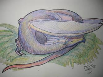 Sketchbook Drabbles - Sleeping