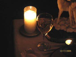 The Chalice and the Candle by Vampiric-Conure