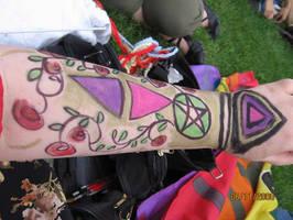 Gay Pride Art Painting by Vampiric-Conure
