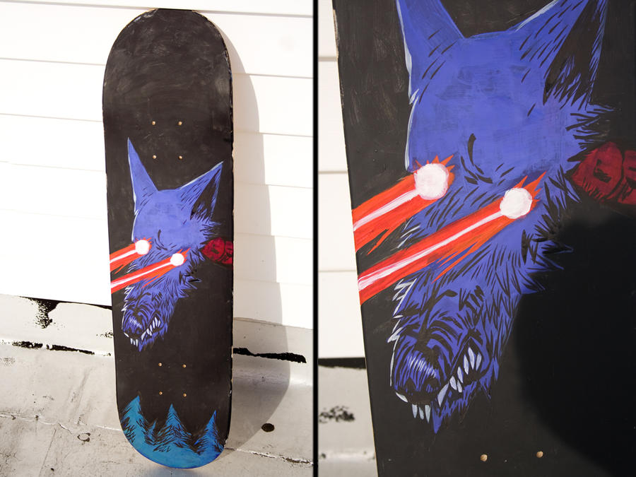 Laser Wolf by caltron