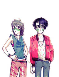 Cyberpunk kids.