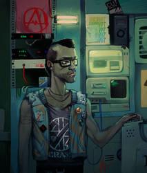 anarchist hacker