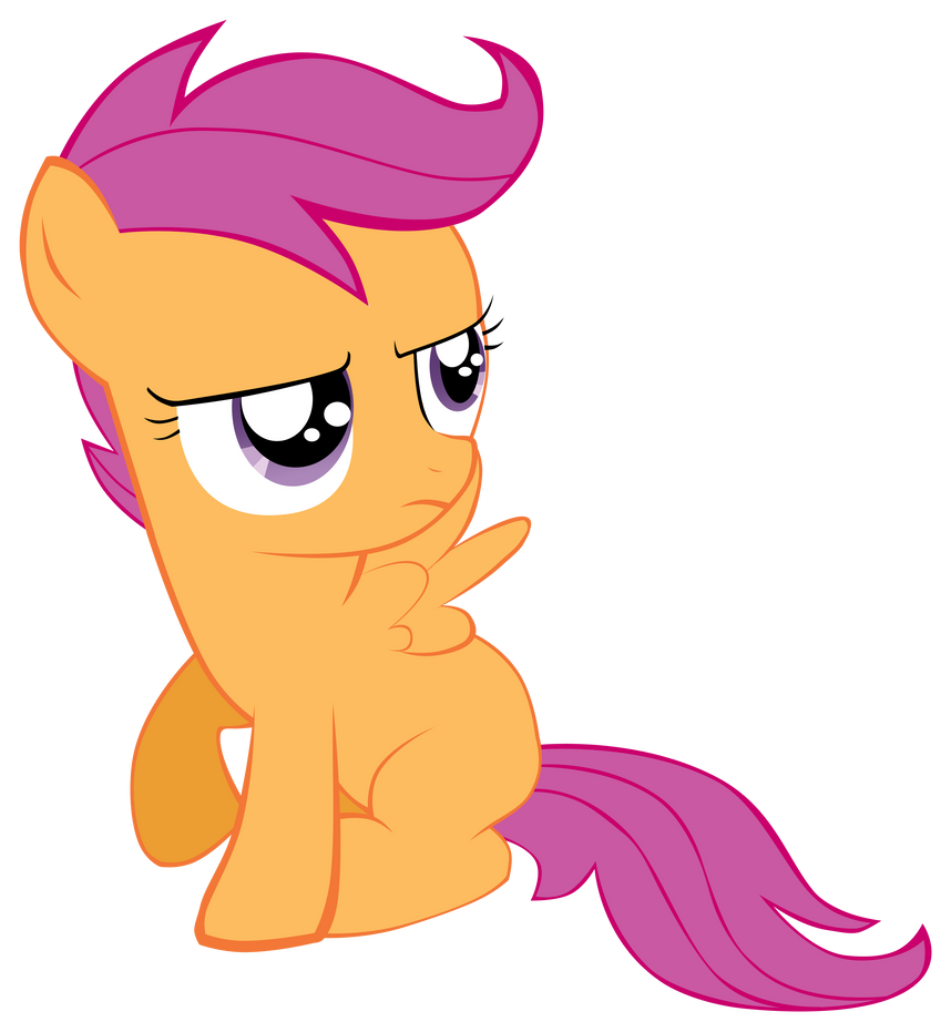 Scootaloo vector 1 by ...
