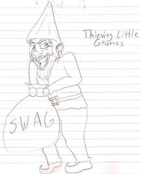 Thieving Little Gnome