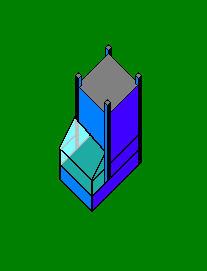 Pixel Building 1 by liquid