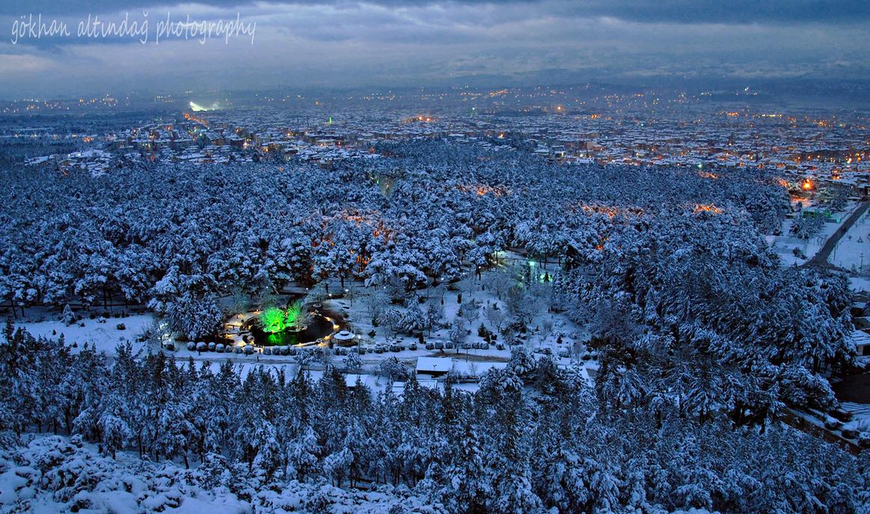 denizli city snow by goguart on DeviantArt