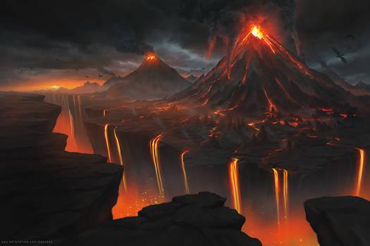 Valley of Volcanoes