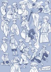 Mitsuki Old Sketch